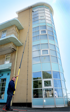 Commercial Window Cleaning Isle of Wight